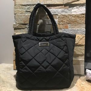 NWT Large Marc Jacobs quilted Black tote